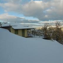 Σπιτάκι στο χιόνι